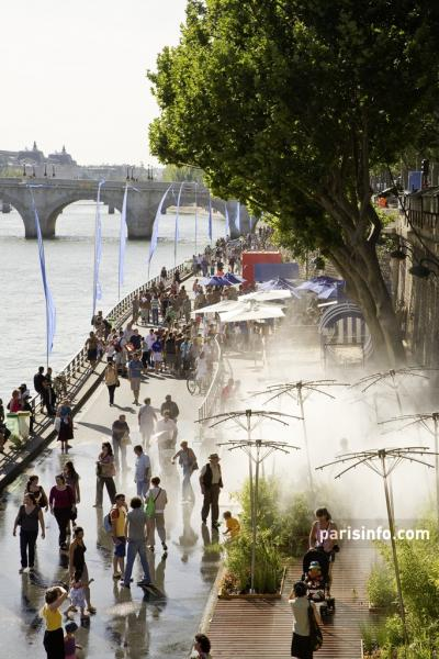 Paris-Plages © Paris Tourist Office/Marc Bertrand