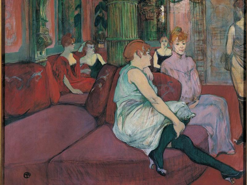 Henri de toulouse lautrec sur ses terres rfi blogs - Salon international d art contemporain toulouse ...