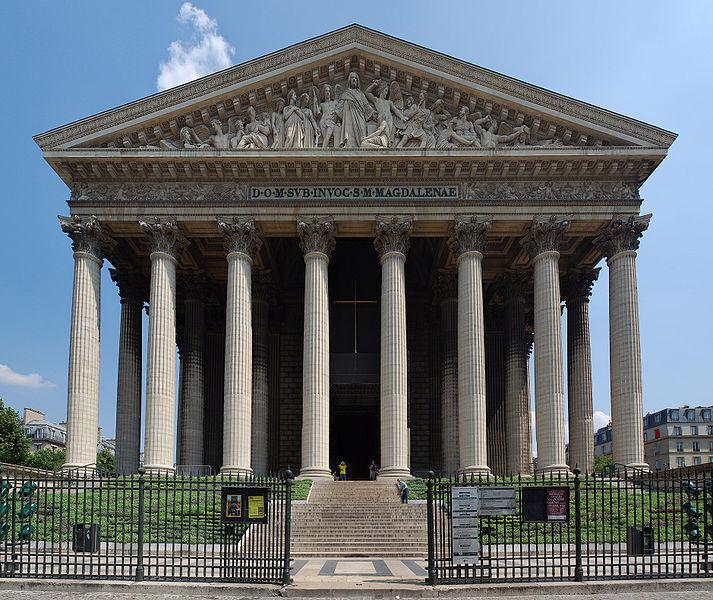 Le paris de napol on rfi blogs - Monument la madeleine ...