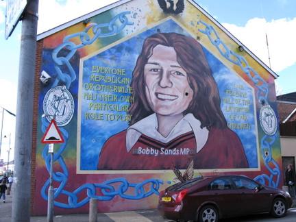 Le tourisme de guerre en irlande du nord rfi blogs for Mural irlande