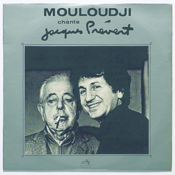 Disque Mouloudji © DR - Collection privée Jacques Prévert