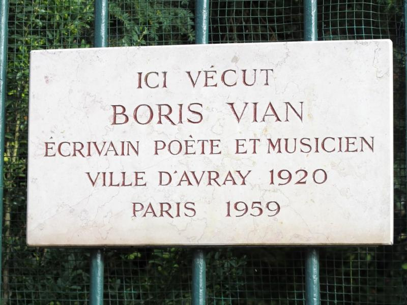 Plaque commémorative, Ville d'Avray
