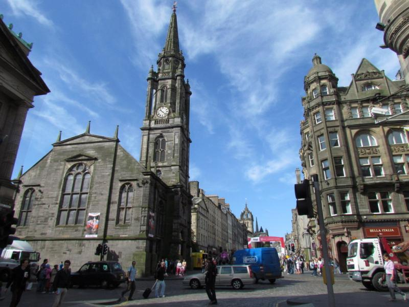 High Street, Royal Mile, Edimbourg