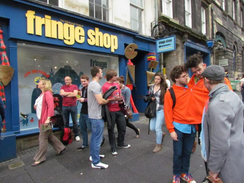 Fringe Shop (box office) , High Street, Edimbourg