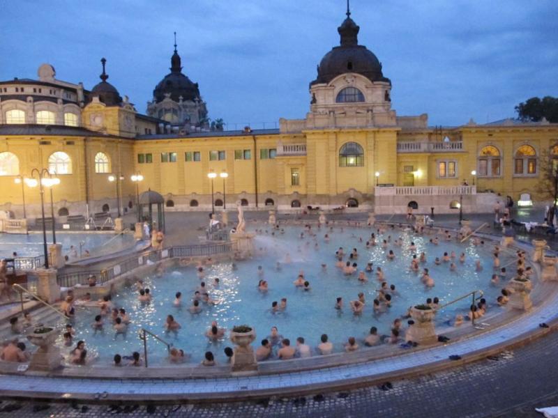 bains budapest király