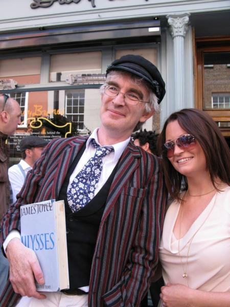 Ambiance pendant le Bloomsday, Dublin
