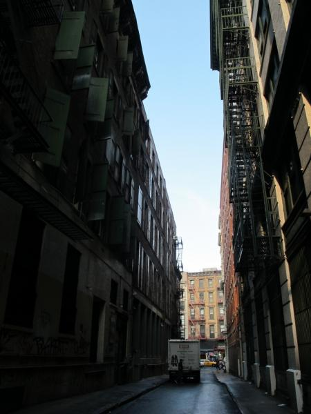 Cortland Alley, New-York City