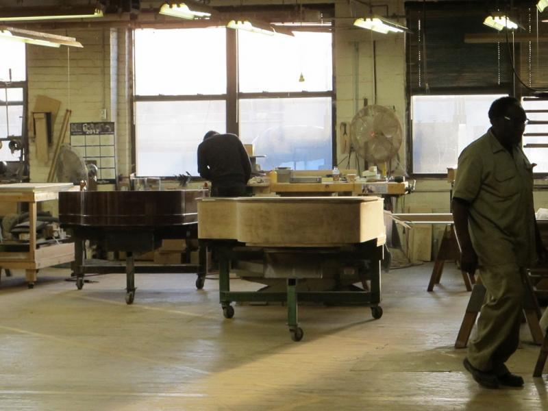 Manufacture Steinway and sons, New-York City