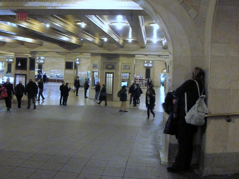 Galerie des murmures, Grand Central Station, New-York City