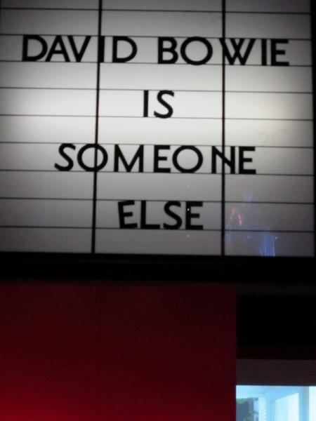 "Exposition ""David Bowie is"", V&A Museum, Londres"