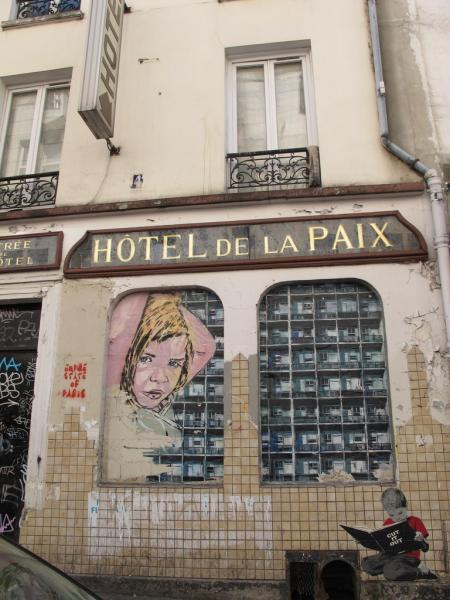 Street art, Belleville, Paris