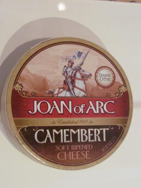 Image publicitaire utilisant Jeanne d'Arc, exposition temporaire, Château de Chinon