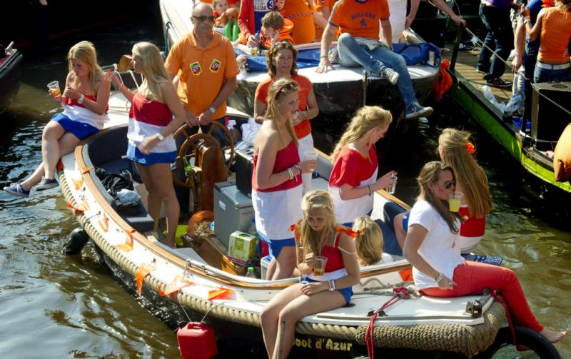 Kingsday © Office du tourisme des Pays-Bas