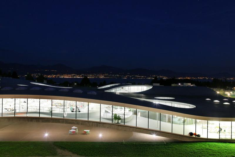 Rolex Learning Center, Lausanne, Suisse © EPFL - Alain Herzog