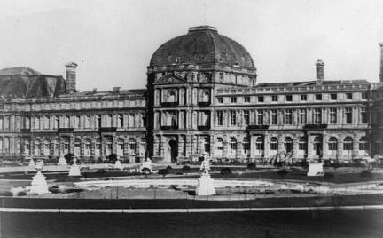 Palais des Tuileries par Edouard Baldus (Library of congress USA-wikimedia commons)